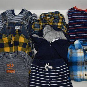 Toddler boy closet bundle 18m